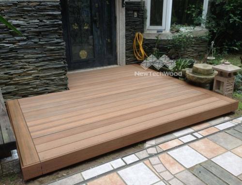 木平台更新 庭院像醜小鴨變天鵝