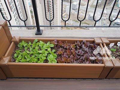 塑木花箱-開心農場