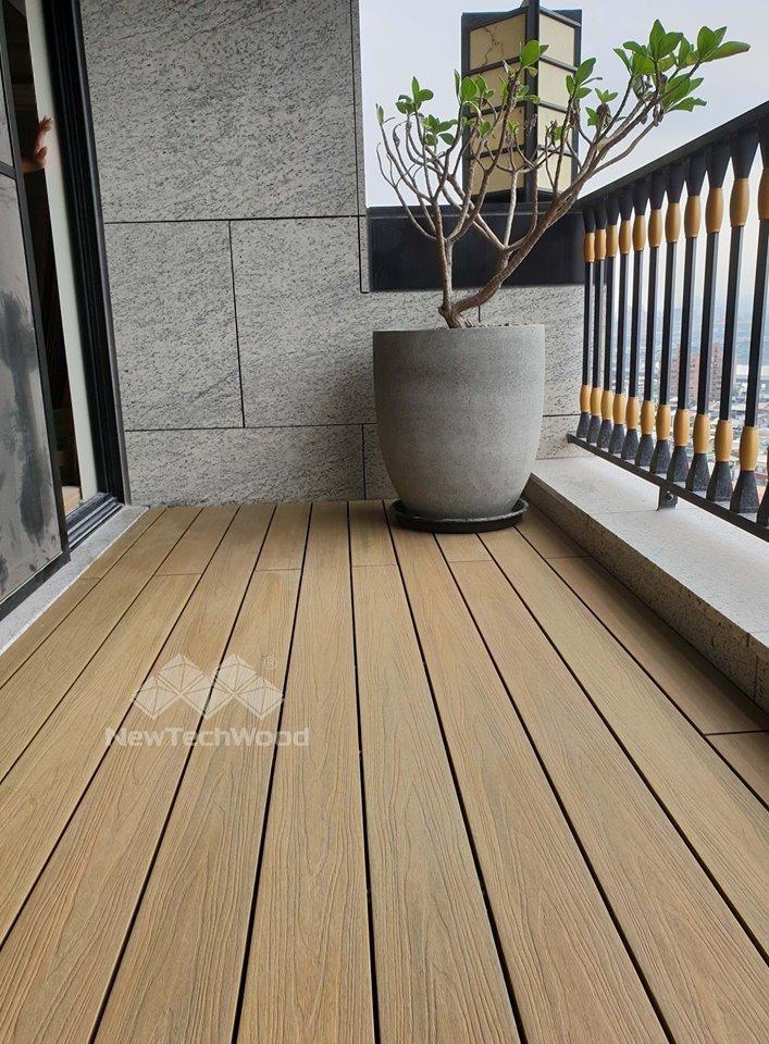 橡木色-陽台