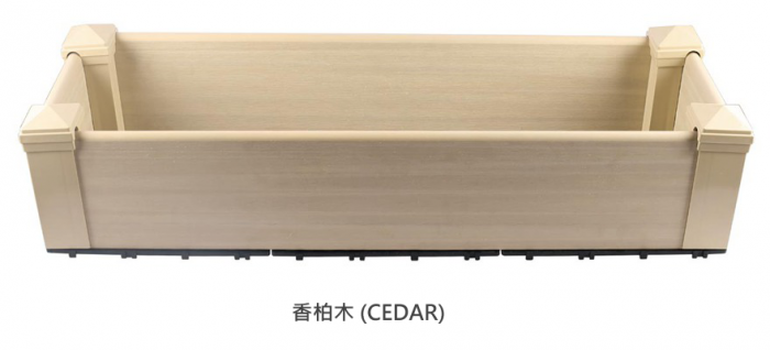 香柏木花箱-Ceder