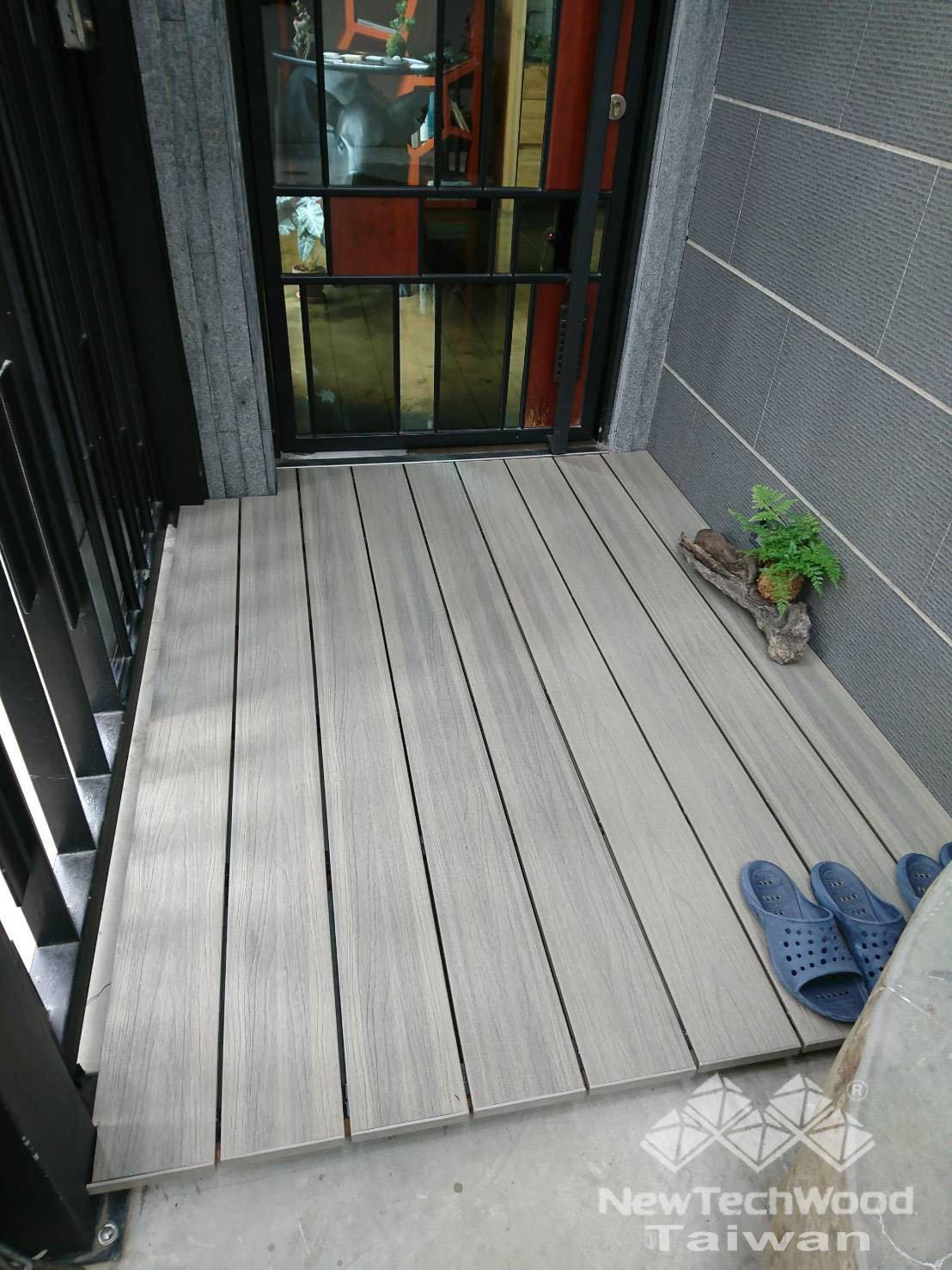 綠建材-塑木-古木色-羽生設計
