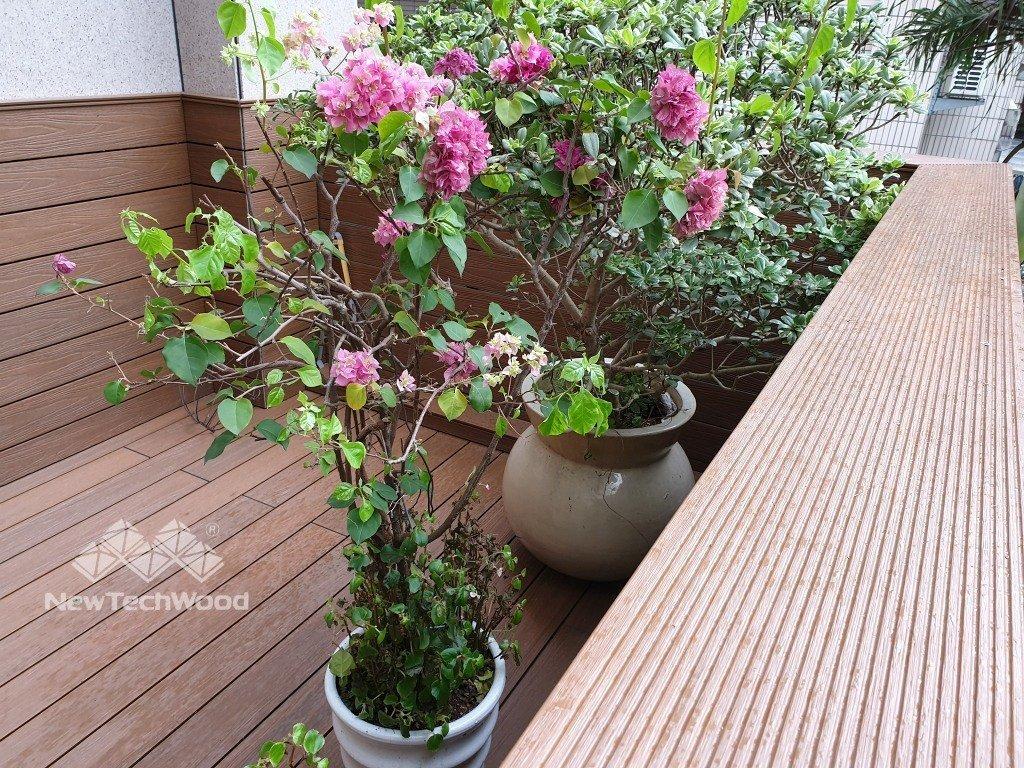 花園塑木平台