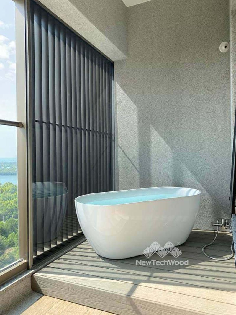 獨立浴缸平台