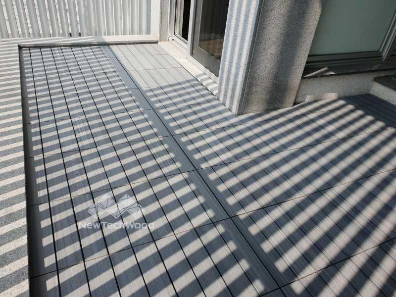 巧拼地板-陽台
