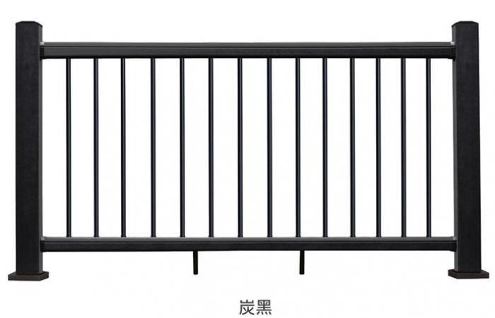 美新塑木系統欄杆-炭黑
