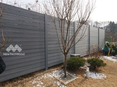 塑木圍籬欄杆