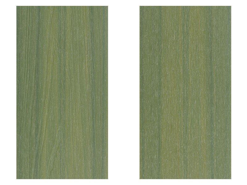 春綠色塑木