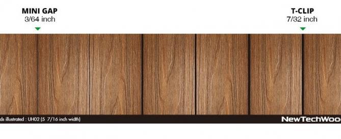 美新塑木-隱藏卡扣