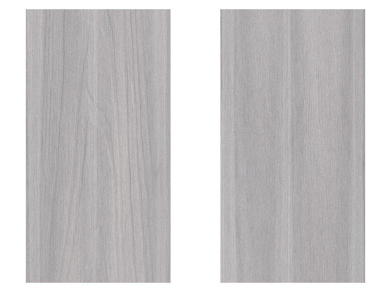 煙灰白色塑木