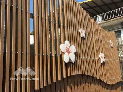 美新塑木-格價牆面