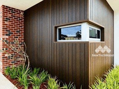 美新塑木牆板