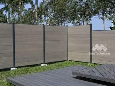 美新塑木圍欄
