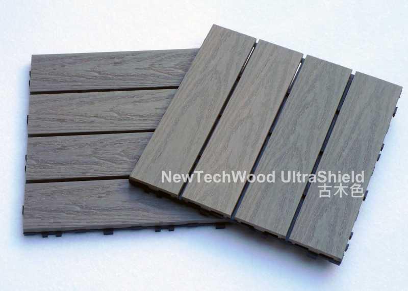 塑木塊拼地板