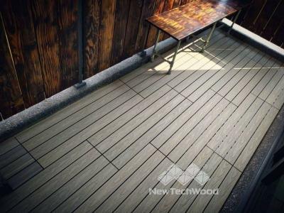 塑木-快組-巧拼地板-簡易拼裝-古木