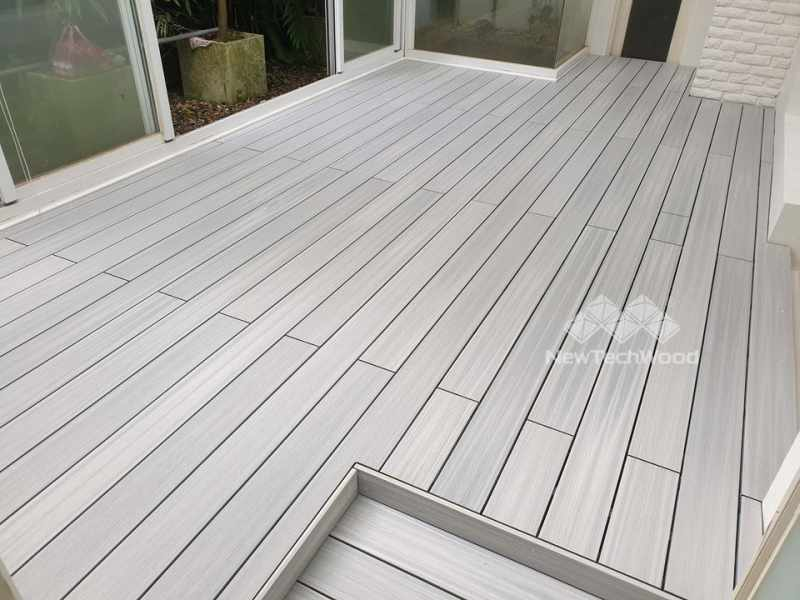 美新塑木-煙灰白色
