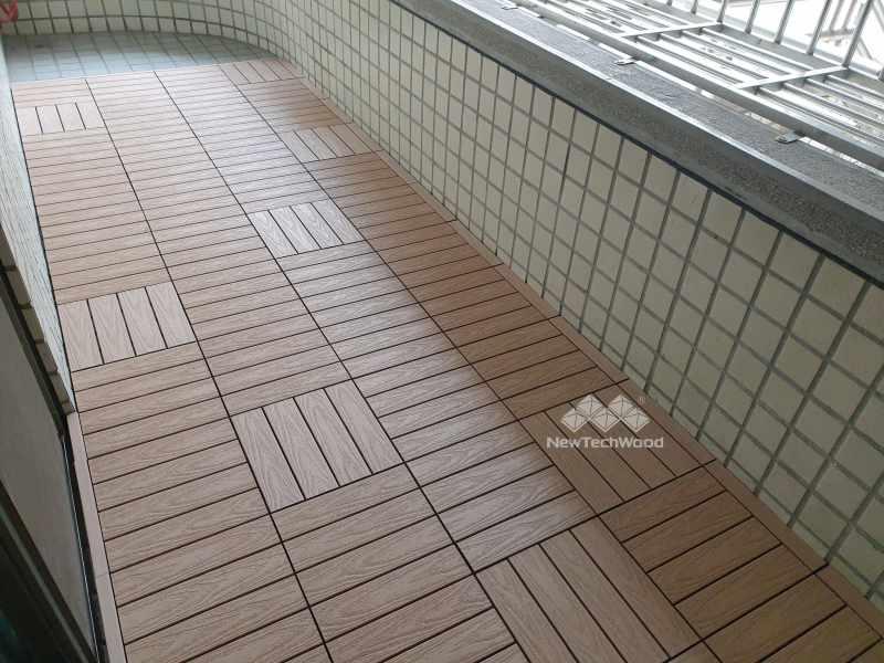 楓木-快組地板