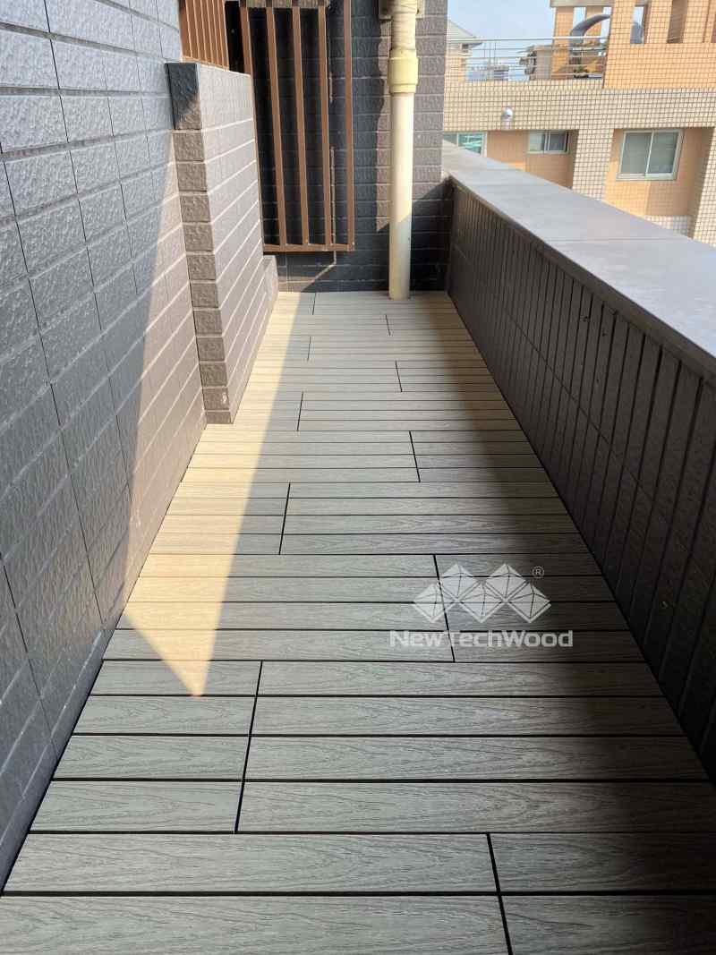 古木色塑木地板