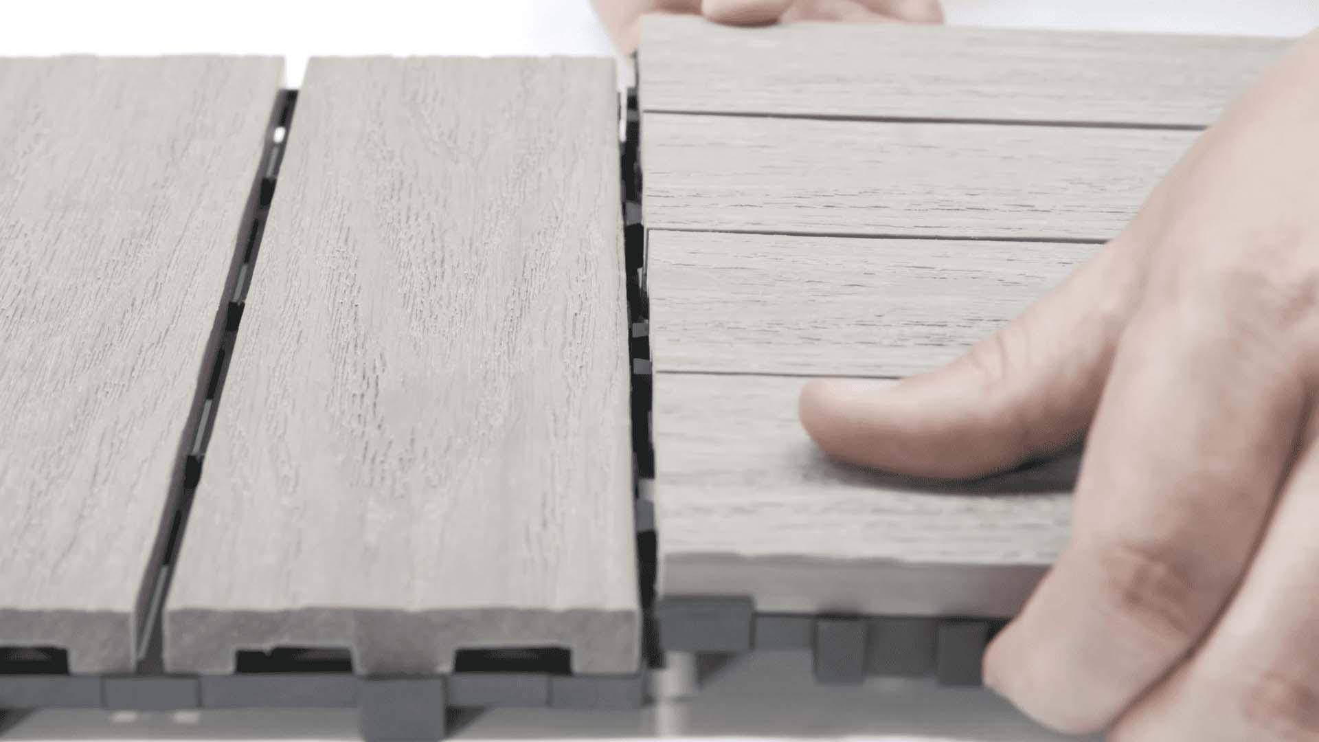 快組地板-卡扣式安裝