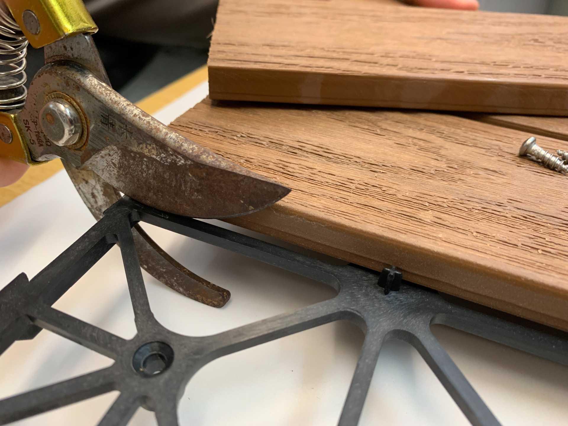 快組地板--手工具裁切法
