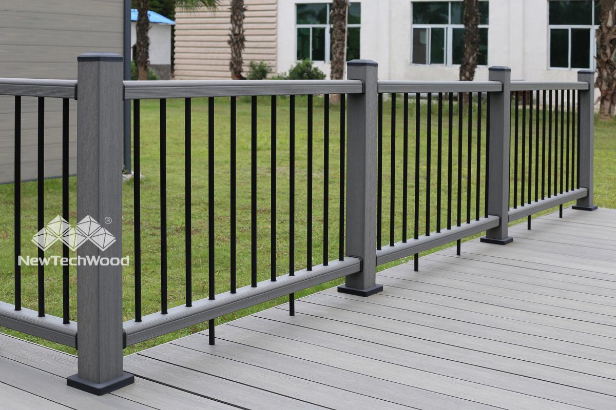 新塑木系統欄杆