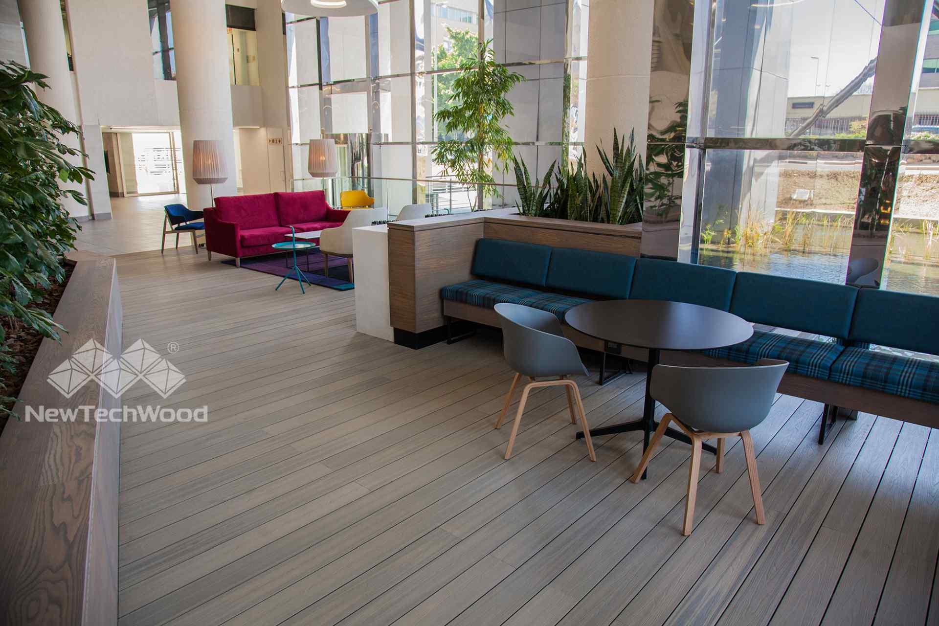 美新塑木-室內地板