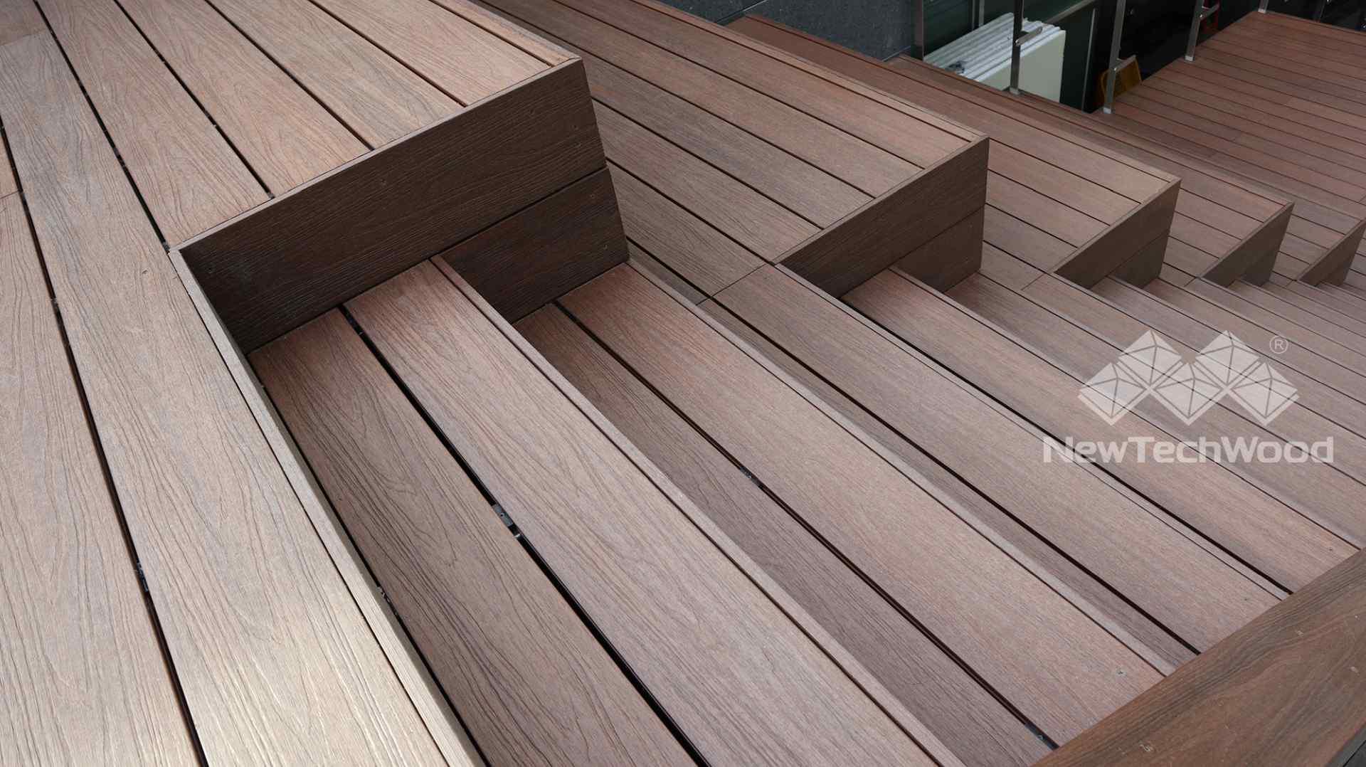 美新塑木-階梯座椅