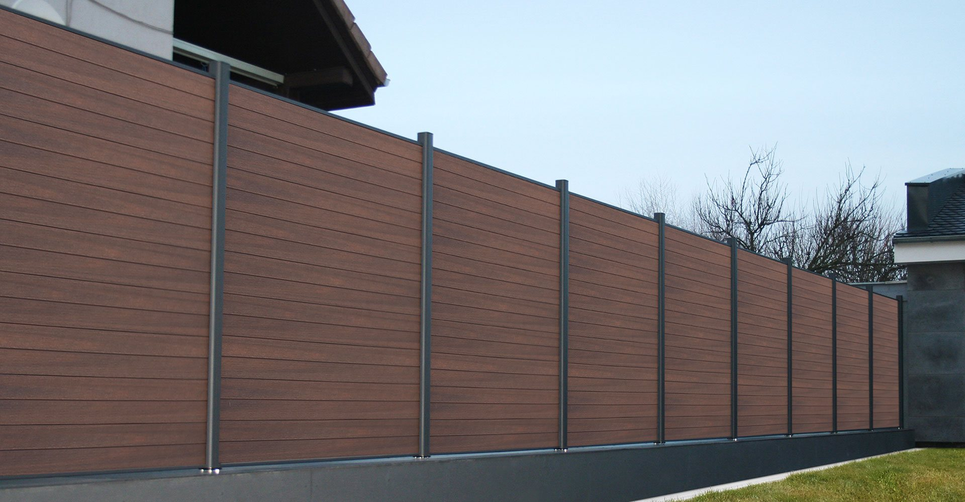 美新塑木系統圍欄