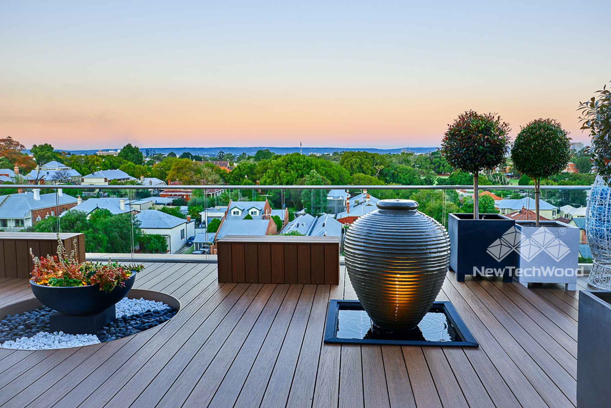 美新塑木-澳洲海岸觀景平台