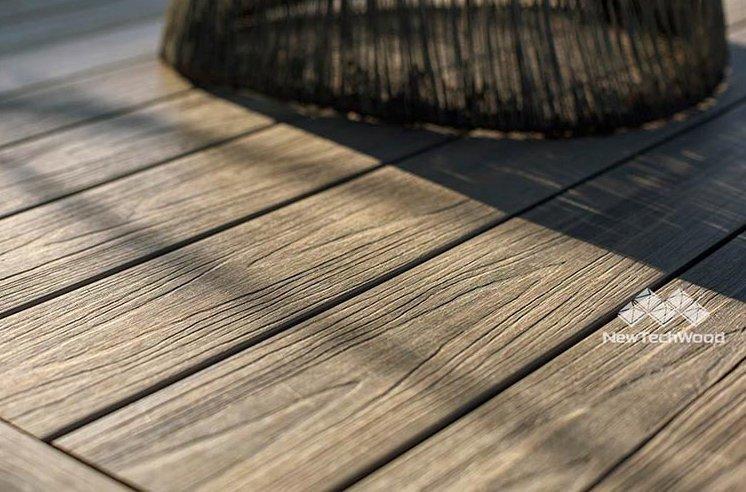 塑木紋路仿自實木紋理