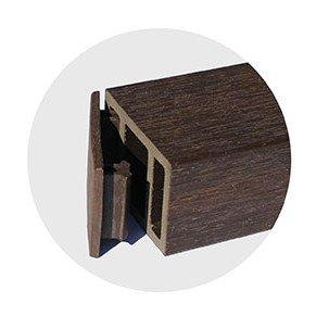 塑木格柵-封邊塞