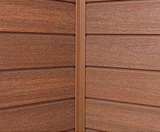 塑木牆板-內角收邊條