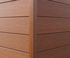 塑木牆板-外角收邊條