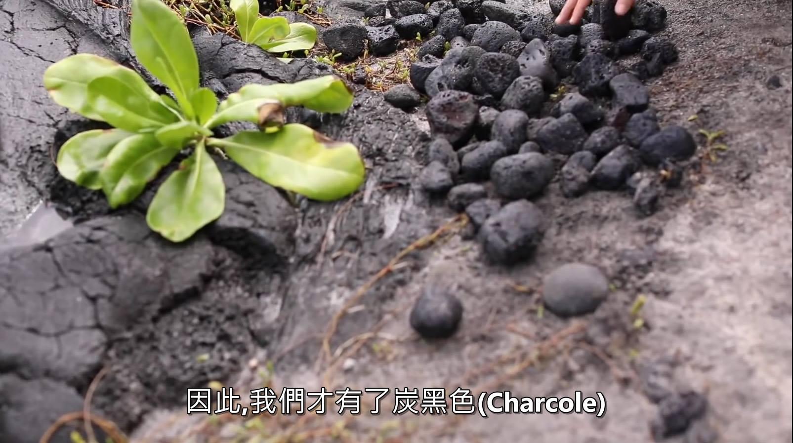 塑木顏色來自夏威夷火山石