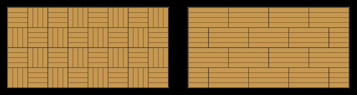 快組地板鋪設參考式樣3