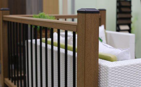 美新塑木欄杆