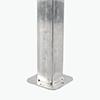 塑木立柱內襯鋼管底座