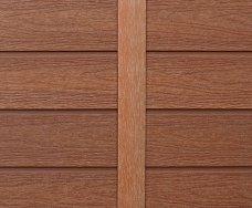 塑木牆板-工形收邊條