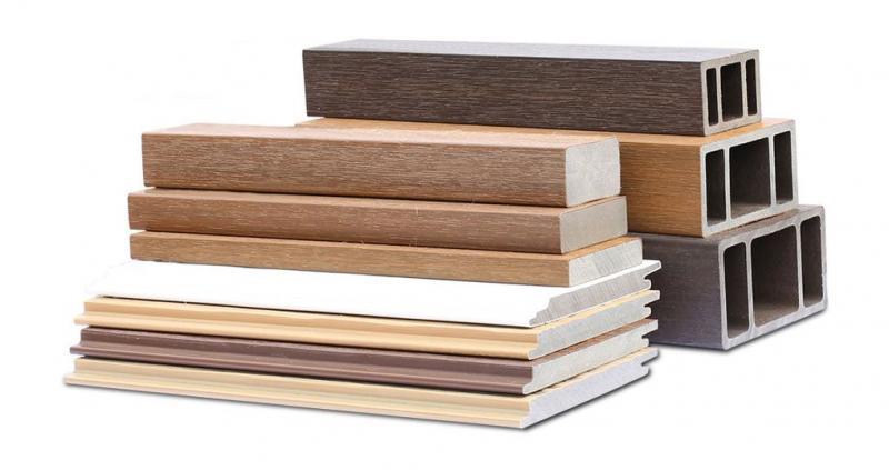 美新塑木牆板型材
