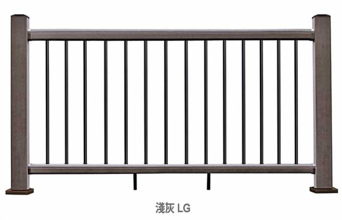 美新塑木欄杆單元
