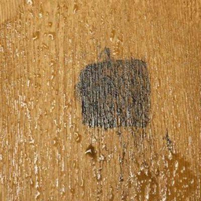 一般塑木-墨痕測試3
