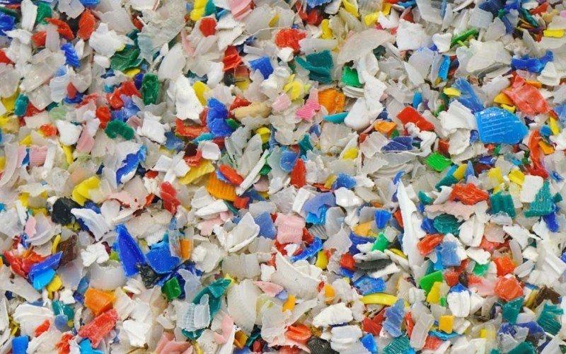 HDPE回收粒