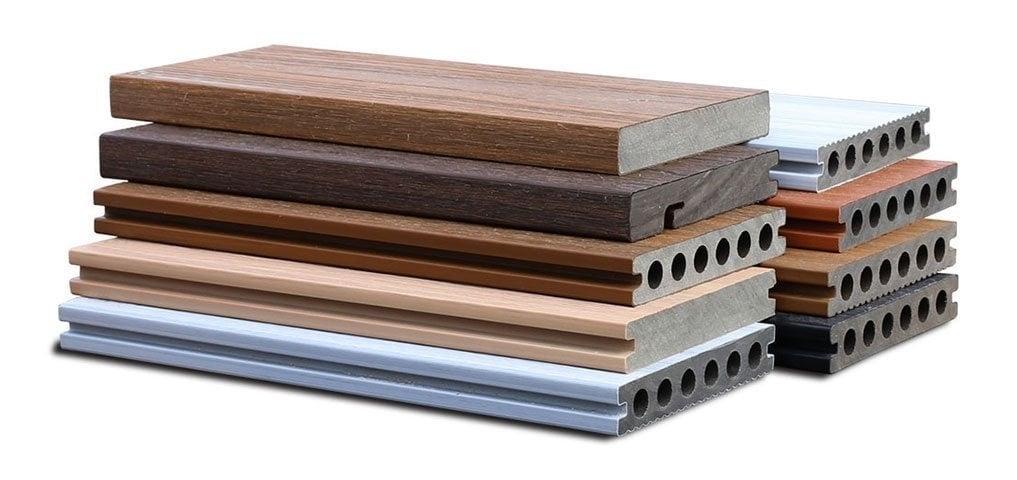 美新塑木地板型材
