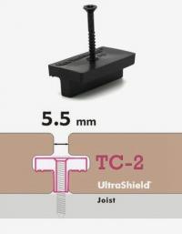 TC2-塑木地板卡扣-滑動件