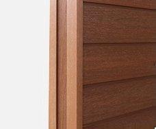 塑木牆板-F形收邊條