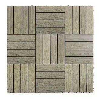 古木色快組地板