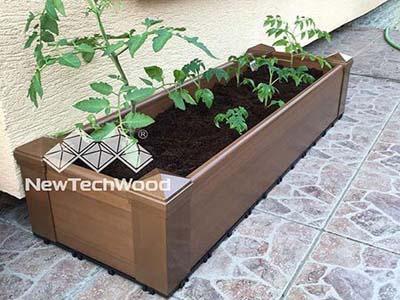 newtechwood-塑木組合花箱