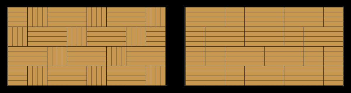 快組地板鋪設參考式樣9