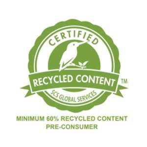 美新塑木-使用回收木粉綠色認證SCS