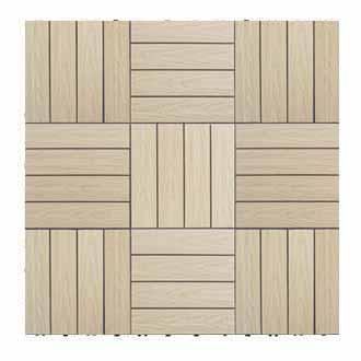香柏木色-塑木快組地板
