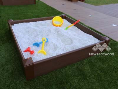 美新塑木組合砂池